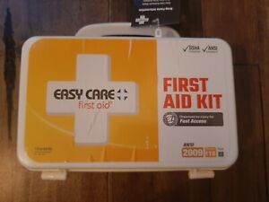 CASE OF 10 KITS - First Aid 10 Person ANSI First Aid Kit Eyewash kit Included