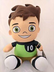 Official Ben 10 Plush Figure Stuffed Gift Toy Tennyson Cartoon Network Kids Ten