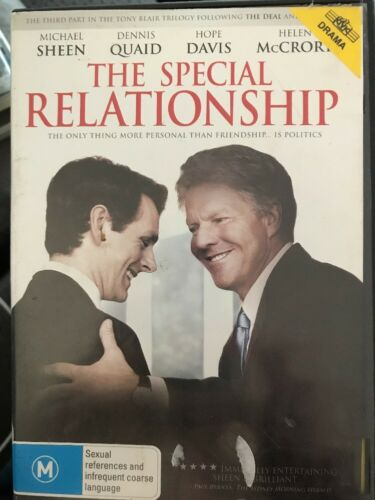1 of 1 - The Special Relationship (DVD, 2010) Michael Sheen, Dennis Quaid - Free Post!
