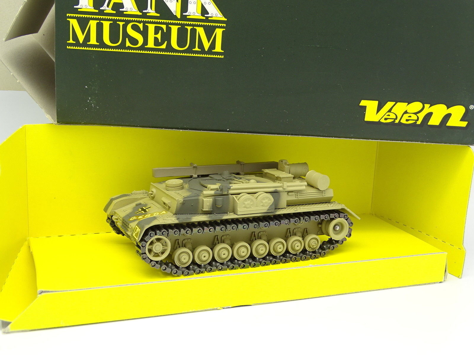 Verem Militaire Army Tank Museum 1 50 - Char Tank Panzer IV Berge Recovery SM24
