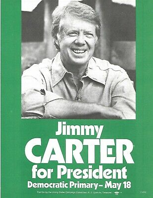 """1976 JIMMY CARTER FOR PRESIDENT 1 5//8/"""" BUTTON PINBACK LITTLE LEVER PALS"""
