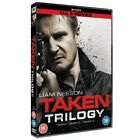 Taken Trilogy All 3 Movies Liam Neeson DVD BOXSET Cert 18