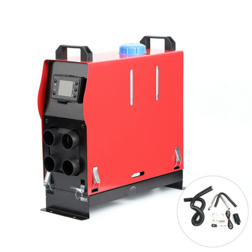 5000W 12V 4 Holes Air Diesel Heater LCD Monitor For Truck Boat Bus Car