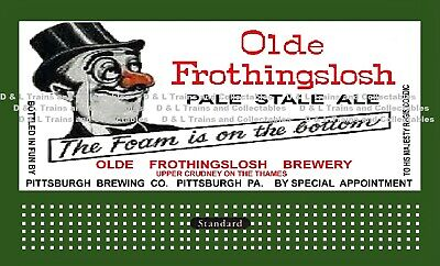 Billboard for Plasticville Holder Olde Frothingslosh Pale Stale Ale