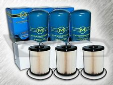 5.9L TURBO DIESEL 3 OIL FILTERS & 3 FUEL FILTERS KIT FOR DODGE PACKAGE OF 6