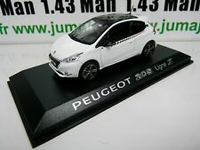 1//43 NOREV VOITURE DIECAST DEALER PACK MODEL 472806 Peugeot 208 ligne S