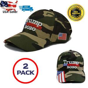 President-Donald-Trump-2020-Flag-Camo-MAGA-Hat-Mesh-Make-America-Great-Again-Cap