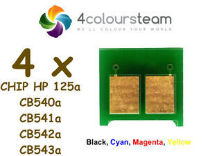 Chips-de-reinicio-de-toner-4x-1set-para-Hp-125a-CP1215-CP1515N-CP1518NI-CM1312mfp-CB540a