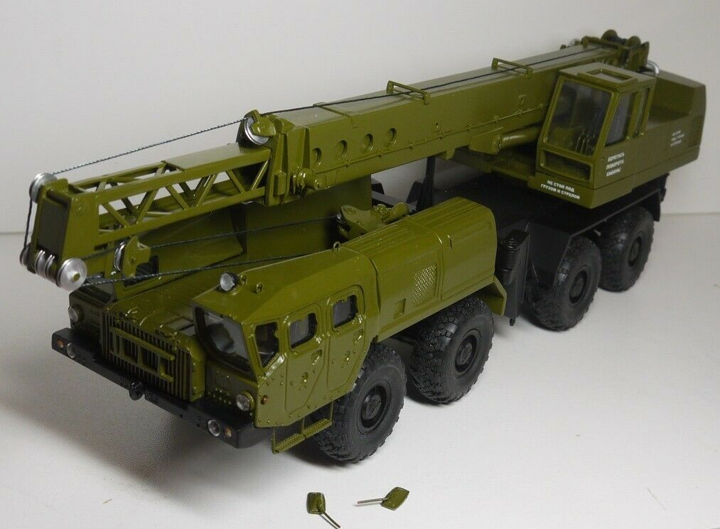 USSR Soviet Russian MAZ-543 army crane KS-5571 1 43 Scale