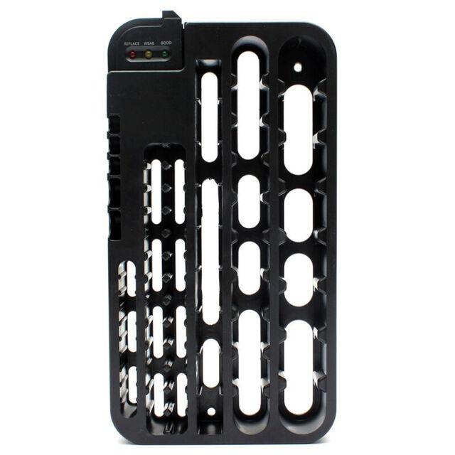 72 Battery Tester Case Storage Box Battery Caddy Storage Plastic Holder Sl P0P2