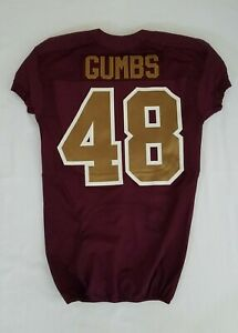 48-Jose-Gumbs-of-the-Washington-Redskins-NFL-Alternate-Game-Issued-Jersey