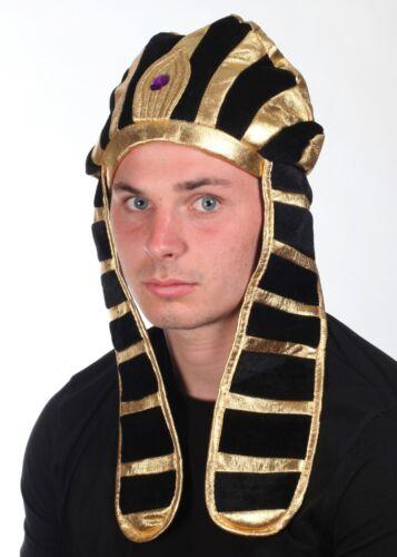 2 x Pharaoh Egyptian Hat Head Piece Snake Dimaond Two Designs Fancy Dress Unisex
