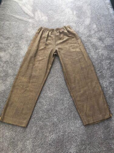Dj Patterned Jessica Størrelse Pants Women's 1 113 Brown Donna Nwt S7qPw81