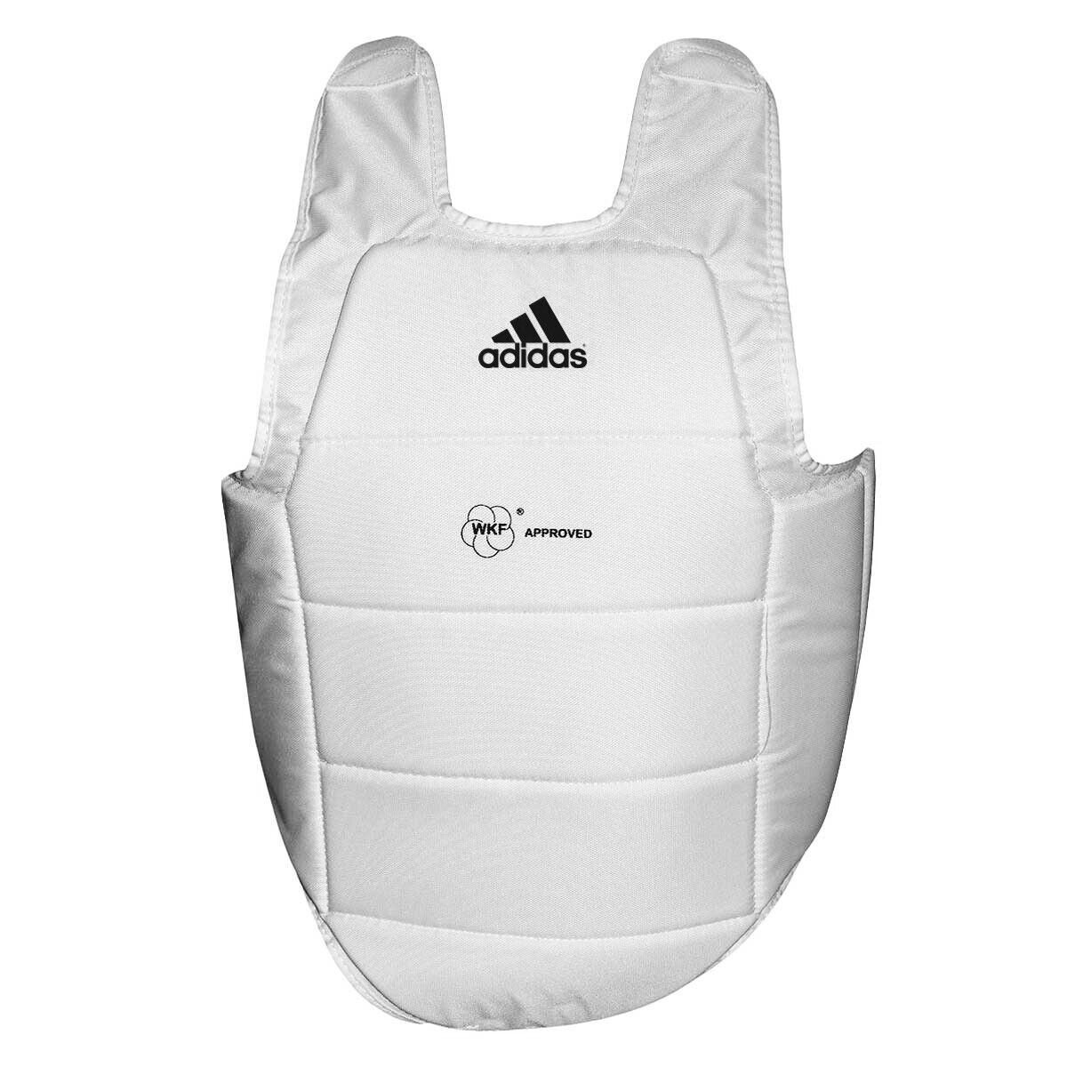 Corpetto prossoettivo Karate Omologato WKF bianca Adidas  35402070
