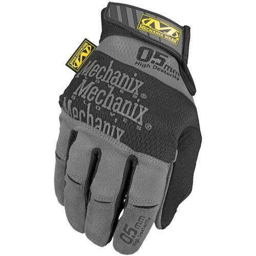 Mechanix Wear Specialty High Dexterity 0.5mm Hombre Airsoft Trabajo Gris Negro