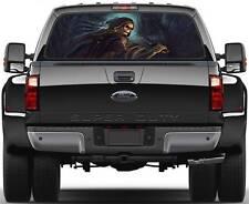 Grim Reaper, Skull Window Graphic Decal Sticker Truck SUV Van Car