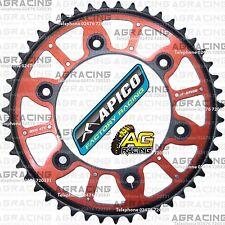 Apico Xtreme Red Black Rear Alloy Steel Sprocket 47T For Honda CR 125 2002 MotoX