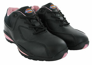 Dickies Ohio Safety Steel Toe Cap Lightweight Womens Trainers Work Shoes UK3-8