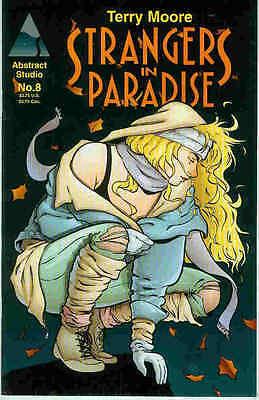 Angemessen Strangers In Paradise # 8 (terry Moore) (usa, 1995) Elegant Im Stil