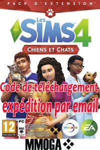 Les-Sims-4-Chiens-et-Chats-Telechargement-PC-EA-Origin-DLC-Addon-Code-FR