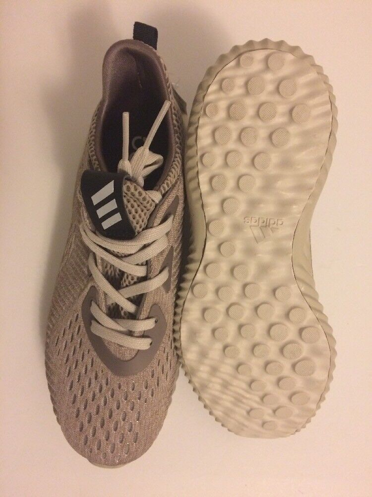 Adidas Alphabounce EM Men's 5 Women's 6 Tech Earth Khaki Khaki Khaki Brown BW0578 5160d9