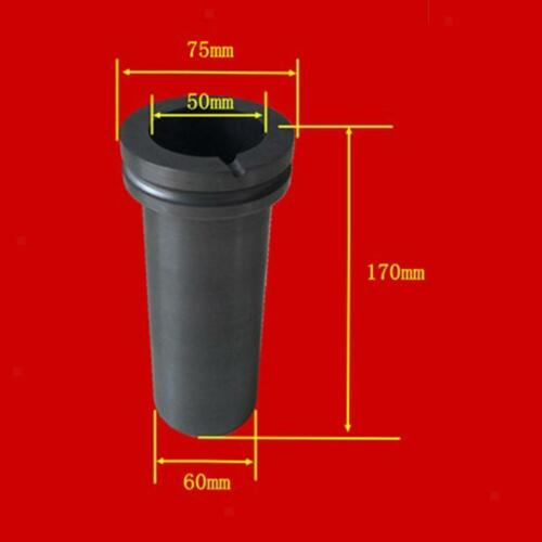 3KG Graphite Crucible Cup Torch Melting Gold Silver Copper Tool+Tongs
