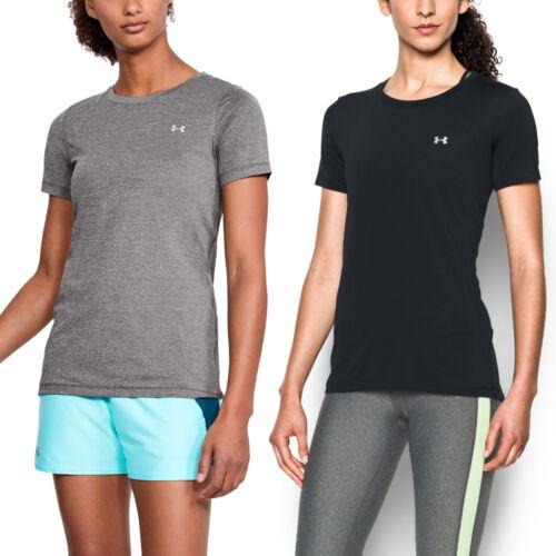 2er Pack Under Armour Damen Shirt HeatGear® Fitness T-Shirt kurzärmlig