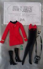 2016 Star Trek Uhura Barbie outfit mint complete Mattel MOD