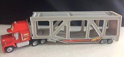 2006 Mattel Disney Pixar Cars Mack Semi Truck Car Carrier Ebay