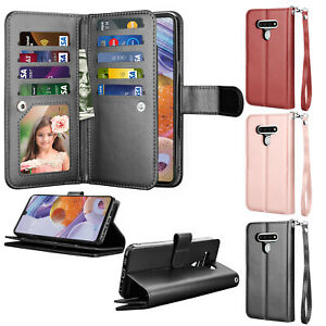 For-LG-Stylo-6-K51-Phone-Case-Leather-Wallet-Flip-Card-Slots-Holder-Stand-Cover