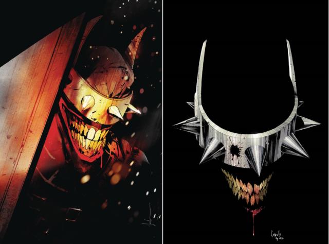 (2018) BATMAN WHO LAUGHS #1 (OF 6) Jock + Capullo Variant Cover set!