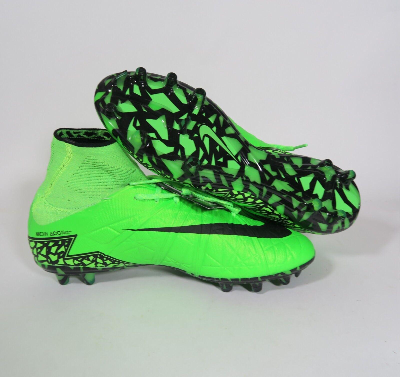 New Nike Green/Black/Volt Hypervenom Phantom II FG Green/Black/Volt Nike Choose Size [747213-307] d92a1c