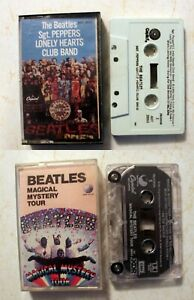 Cassette-Beatles-Sgt-Peppers-Lonely-Hearts-Club-Band-Magical-Mystery-Tour