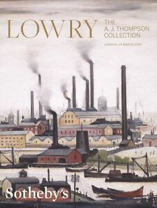 Sotheby-039-s-Catalogue-LOWRY-The-A-J-Thompson-Collection-2014-HB