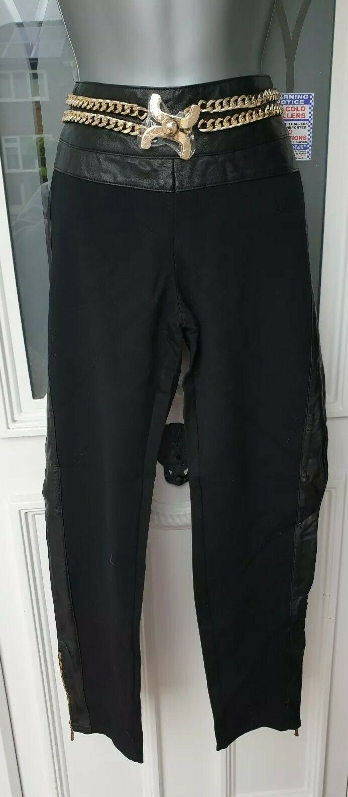 Poesse Trousers Xl beautiful on Größe xl made in italy sorry pics dont do justice