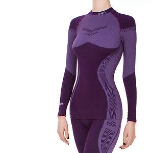 Femmes-skiunterwasche-thermohemd-de-Miyabi-fonction-vetements-Manches-Longues-Chaud