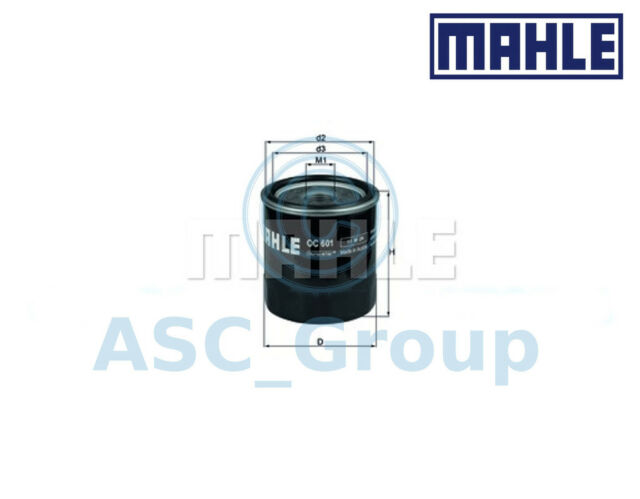 Genuine MAHLE Replacement Screw-on Engine Oil Filter OC 601 OC601