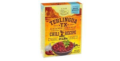 Casi Terlinguq Texas Championship Chili Recipe 2 8 Oz Pack Of 3 Ebay