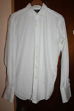 Polo Ralph Lauren Philip Classic Fit White Dress Shirt Size 16 33 French Cuff