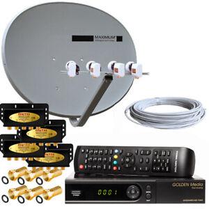 Russische-TV-Sat-Anlage-MAXIMUM-E-85-HD-Sat-Receiver-USB-4-TV-voreingestellt