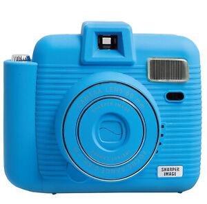Sharper-Image-IC2018-Instant-Camera-Blue