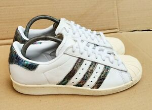 ADIDAS SUPERSTAR 80's TRAINERS SIZE 6