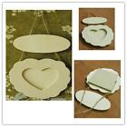 Popular Creative Shabby Chic Heart Shaped Photo Picture Frame Wood Hearts Nq