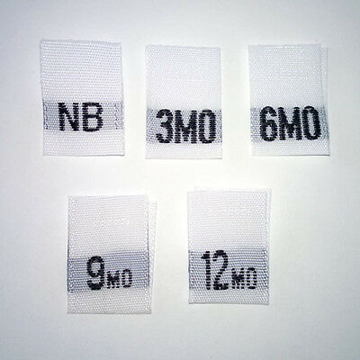Custom Size and Care Label Listing for Maria
