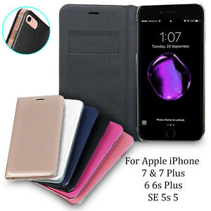 Premium-Luxury-Leather-Card-Wallet-Flip-Case-Cover-for-APPLE-iPhone-7-6-s-Plus-5