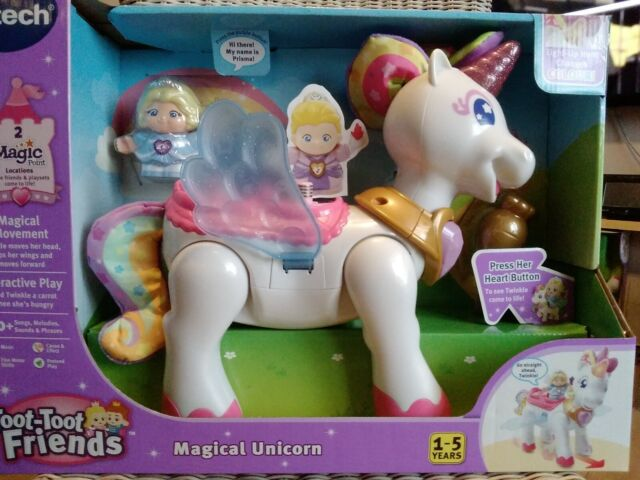 Vtech Toot Toot Friends Magical Unicorn Interactive Lights & Sounds Free P&P New