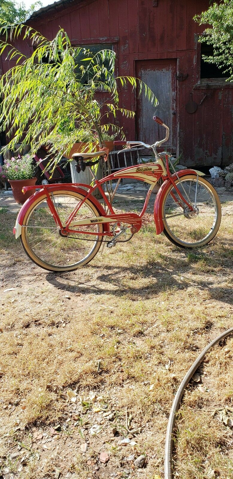Vintage 1950s  Schwinn Bike Antique Old Bicycle Collectable  NICE BIKE     first-class service