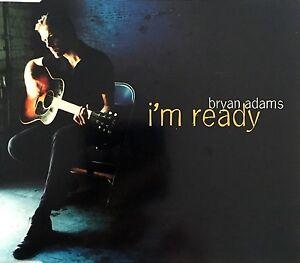 Bryan-Adams-Maxi-CD-I-039-m-Ready-EX-M