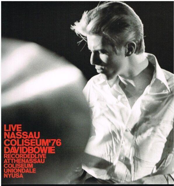 David Bowie: en Vivo Nassau Colisseum '76 - LP Vinilo 33 RPM 2016
