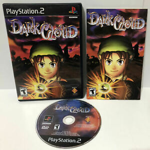 Dark-Cloud-Sony-PlayStation-2-PS2-Game-Complete-w-Manual-CIB